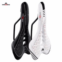 KINGBIKE Bicycle Saddle Bike Saddle Seat Leather Cushion Bicicleta Bicycle Parts MTB Road Mountain Bike Cycling