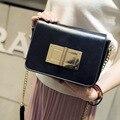 Женщины pu Письма лоскут сумки Женщины замок Пригородных Офис китай сумка женская коробка Bolsas Известная Леди плечо Crossbody мешок