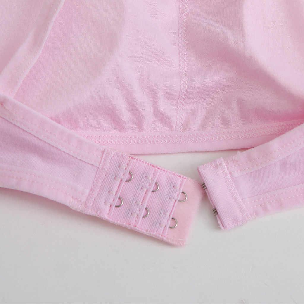 Trẻ em Gái Đồ Lót Có Thể Điều Chỉnh Áo Ngực cô gái tuổi teen đồ lót bộ Vest Trẻ Em Quần Áo Lót Undies Quần Áo # P7
