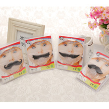 New style extremely funny moustache shaped baby pacifier environmental silicone pacifier cute baby pacifier clip