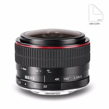 MEKE 6.5mm Ultra Wide f/2.0 Circular Fisheye Lens for A6000,A6100,A6300,Nex3,Nex3n,Nex5,Nex5t,Nex5r,Nex6,Nex7 Mirorrless Camera(China)