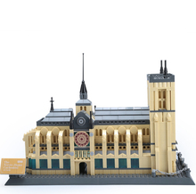 цена world-famous architectural model Bricks Notre Dame cathedral assembly building blocks children educational toys Gifts 5210 онлайн в 2017 году