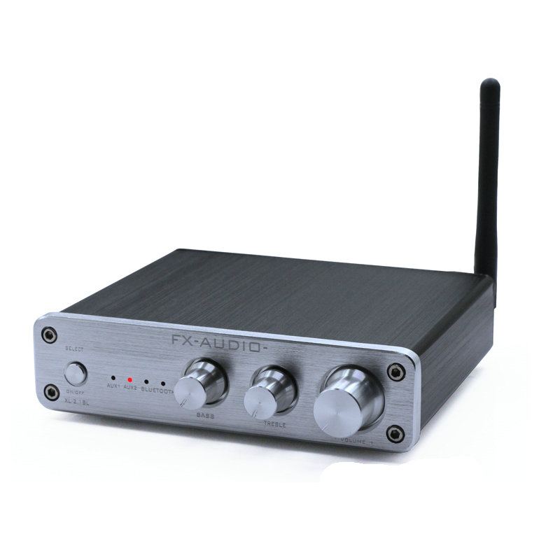 Household power amplifier 2.1 channel high-power multimedia 4 Bluetooth digital power amplifier