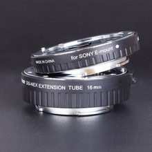 Viltrox DG-NEX Auto Focus Macro Extension Tube ring For SONY E-Mount NEX-5R NEX-5/6/7 Free shipping