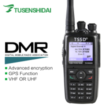 Mono Brand New Band VHF oder DMR Digitale Portable Two Way Radio TS-D8600R