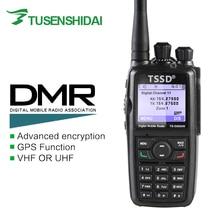 Marka Yeni Mono Band VHF veya UHF DMR Dijital Taşınabilir İki Yönlü Radyo TS-D8600R