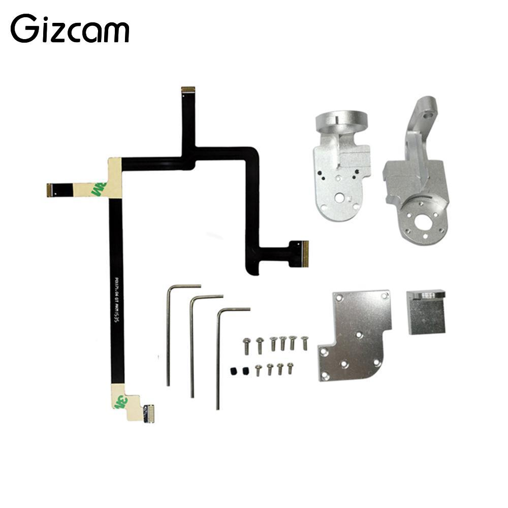 Gizcam Cable Kit with Yaw+Roll Arms Gimbal For DJI Phantom 3 Standard Camera Drone Aircraft Professional Aerial Gimbal Boy Gift image