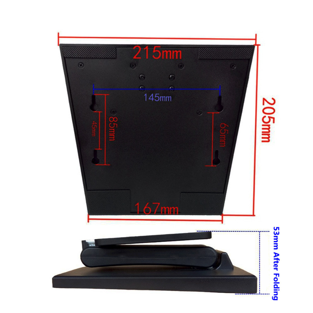 Wearson WS-03A Tənzimlənən LCD Monitor Stendi Qatlanan VESA - Kompüter periferikler - Fotoqrafiya 6