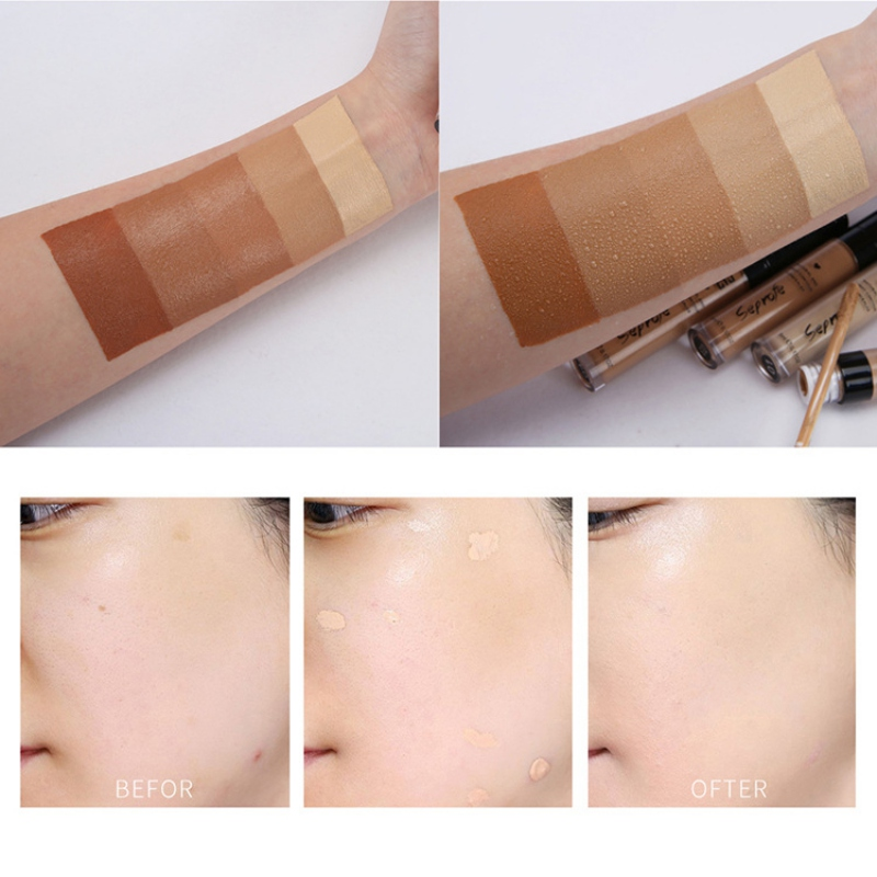 2019 Thin And Light Liquid Foundation Moisturizing Cover Blemishes Even Skin Color Face Liquid Concealer