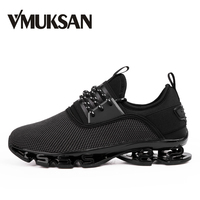 VMUKSAN Large Size 39 47 Men Shoes Brand New Fashion Mens Sneakers 2018 Breathable Lace Up