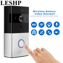 Security Protection - Intercom - LESHP Video Doorbell 1080P Wireless WiFi Ring Door Bell HD 2.4G Phone Remote PIR Motion Two-way Talk Home Alarm Security