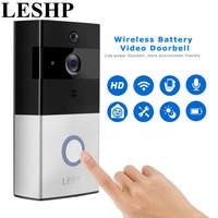 LESHP Video Doorbell 1080P Wireless WiFi Ring Door Bell HD 2 4G Phone Remote PIR Motion