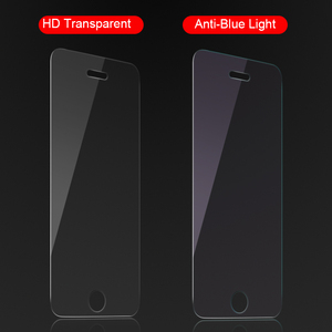 Image 5 - RZP Tempered Glass Trên Cho Apple iPhone 5 S 5 SE 5C màn hình Bảo Vệ 9 H Chống Ánh Sáng Màu Xanh Kính Màng Bảo Vệ Cho iPhone 5 Se