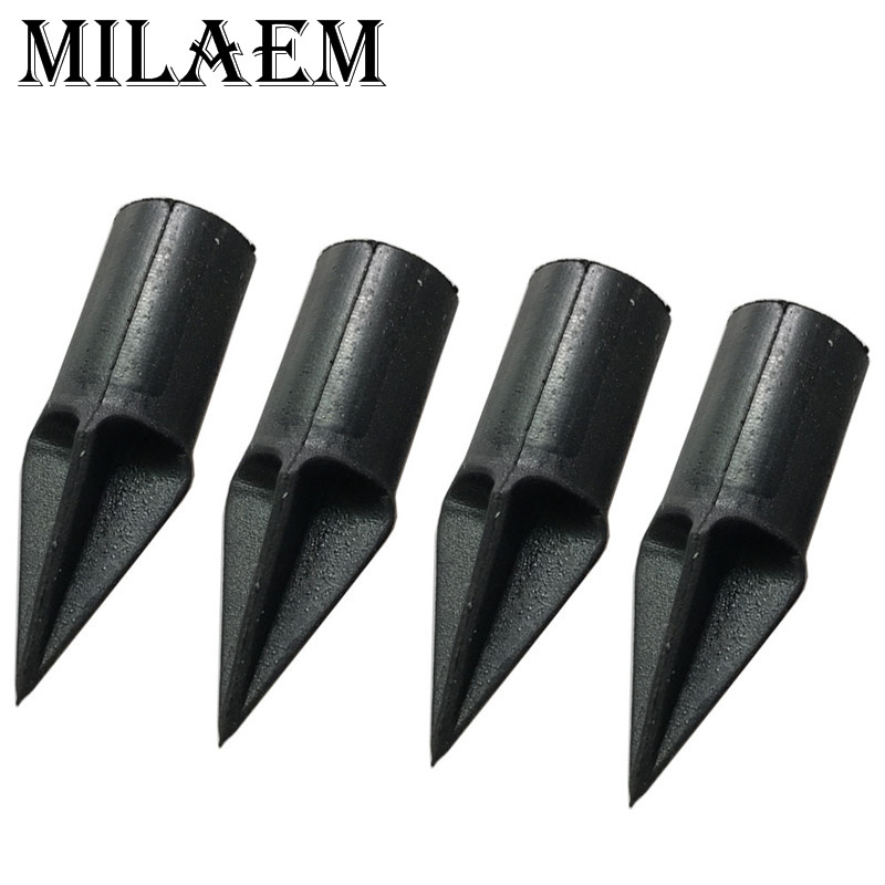 12pcs Archery Arrowhead Target Broadhead Rubber Blunt Target Point Arrowhead Field Tips Outdoor Shooting Hunting