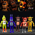 5PCS Fun Five Nights At Freddy's Action Figures Decor For Kid Children