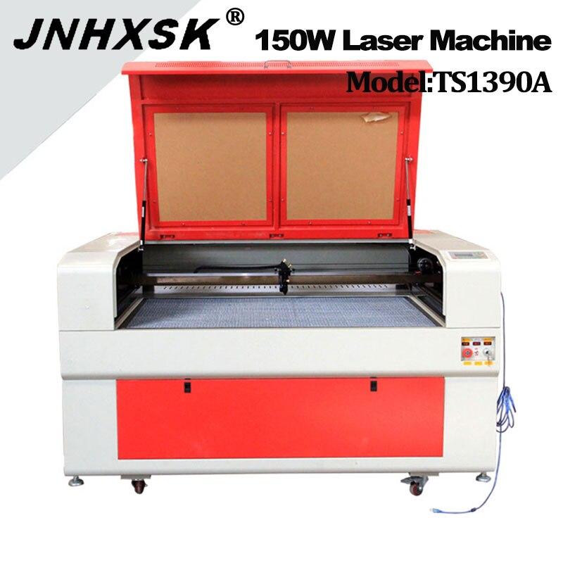 JNHXSK 1390 Laser Engraving Machine Mdf Wood Acrylic Laser Cutter 150W Ruida Cnc Co2 Laser Engraver Cutting Machine  For Sale