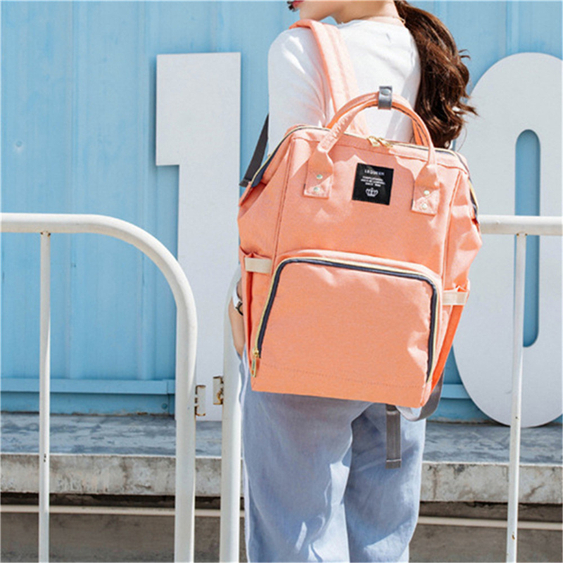 HTB1sTUMLSzqK1RjSZFjq6zlCFXaC 23 Colors Fashion Mummy Maternity Nappy Bag Large Capacity Baby Diaper Bag Travel Backpack Designer Nursing Bag for Baby Care
