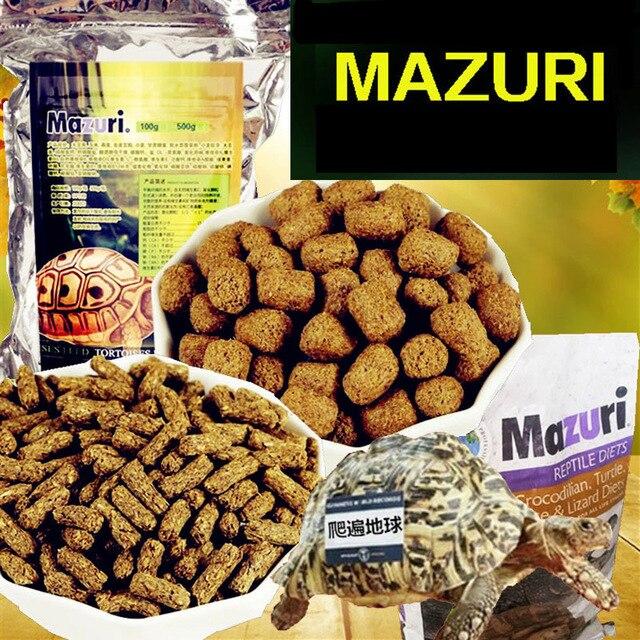 Mazuri Turtle Terrapin Tortoise Food Feed Sticks Granules Reptile Aquarium Fish