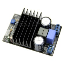 купить 2019 Hot 1pc IRS2092 CLASS D Audio Power Amplifier AMP Kit 200W MONO Assembled Board дешево