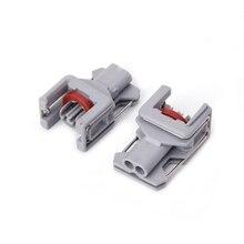 5 комплектов 2 Pin Водонепроницаемый разъем аккумуляторной топливной системы для Делфи 10811963 дизельного топлива инжектор Топливная рампа штепсельной вилки