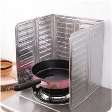1Pcs Küche Kochen Braten Öl Spritzwasser Schutz Gas Herd Öl Entfernung Rost Küche Schutz Gegen Herd Öl Splash Platte