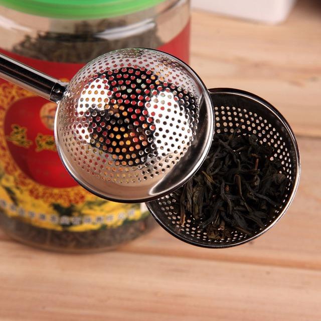 PREUP Stainless Steel Tea Mesh Teaspoon Tea Infuser Reusable Strainer Loose Tea Leaf Herbal Stainless Steel Filter Tea Strainer
