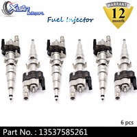 XUAN High Quality Fuel Injector 13537585261 12 13538616079 For BMW N54 N63 135 335 535 550 750 X5 X6 13538648937 13537585261