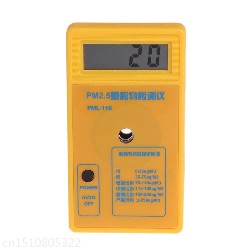 PM2.5 Rilevatore di Foschia Della Polvere di Particelle Analizzatore di Monitoraggio della Qualità Dell'aria Sensore Tester