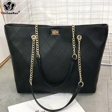Luxury Handbags Women Bags Designer Women Leather Handbag Fashion Plaid Ladies Hand Bags 2019 Large Capacity Tote Bag Sac A Main