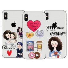 Gilmore Girls Lifes Short Talk Fast Phone Case for iphone XS Silicone TPU Cover 8 7 6 6s Plus 5 5S SE X Coque