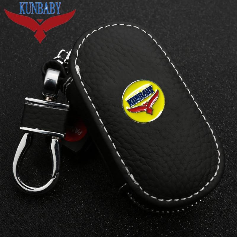 KUNBABY Black Men/Womens New Fashion Car Keys Bag Keys Chains Case Holder Wallet For BMW/BENZ/VW/Audi and so on