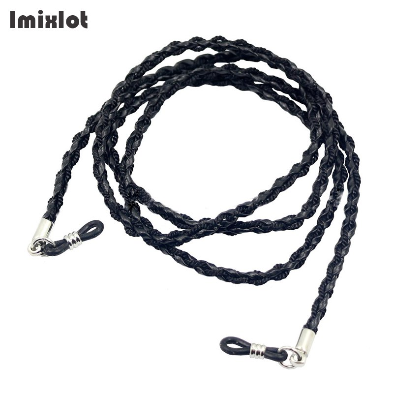 1PC Leather Eyewear Spectacle Sun Glasses String Neck Cord Anti-slip Sunglasses Chain Strap Sports Eyeglasses Cord Holder