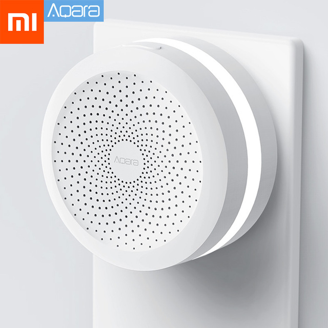 Xiaomi Mijia Aqara Hub Home Gateway Led Night Light Smart Work with For Apple Homekit International Edition