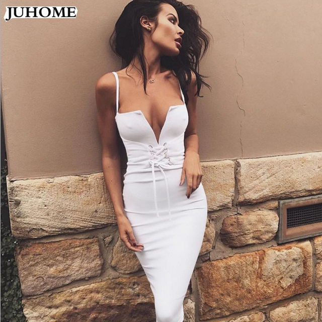 kendall jenner sexy Spaghetti Strap suspender dress sexy deep v neck bodycon Women backpack hip clothes sexy club party vestidos 3