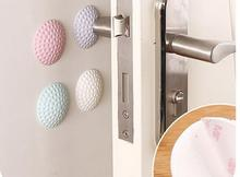 After wall thickening Door mute rubber fenders door Golf modeling the doorknob lock after cushion protection sticker