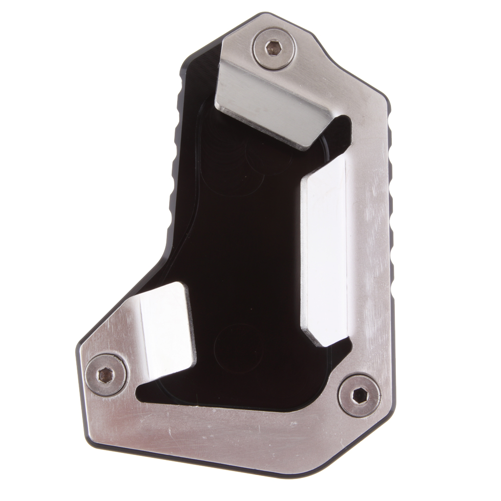 For TRIUMPH TIGER 1200 EXPLORER 2016-2017 Motorcycle CNC Kickstand Foot Side Stand Extension Pad Support Plate Enlarge Stand
