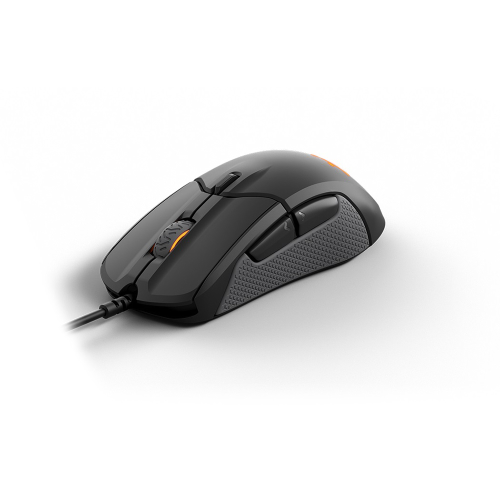 Computer & Office>>Computer Peripherals>>Mice & Keyboards>>Mouse STEELSERIES 62433 Rival 310 black optic USB for gamers qisan x5 6 button 800 1600 2000dpi usb wired gaming mouse w 7 led backlight black