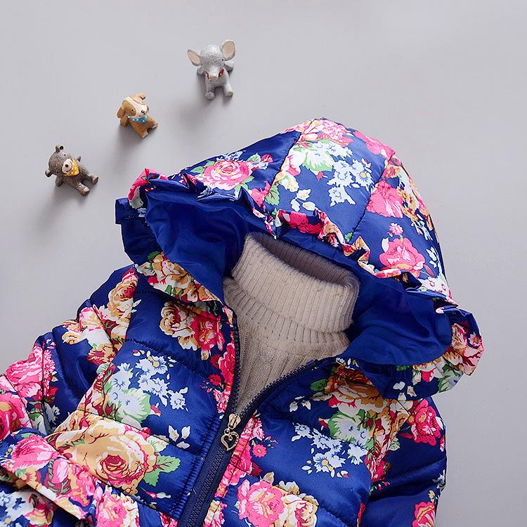 LZH Baby Girls Jacket 19 Autumn Winter Jacket For Girls Coat Kids Warm Hooded Outerwear Coat For Girls Clothes Children Jacket 21