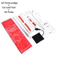 12Pcs Set Auto Air Pump Air Wedge Airbag Set Open Car Door Lock Hand Tools PDR