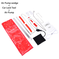 12Pcs/set Auto Air Pump Air Wedge Airbag Set Open Car Door Lock Hand Tools PDR Tool Kit For Car Repair