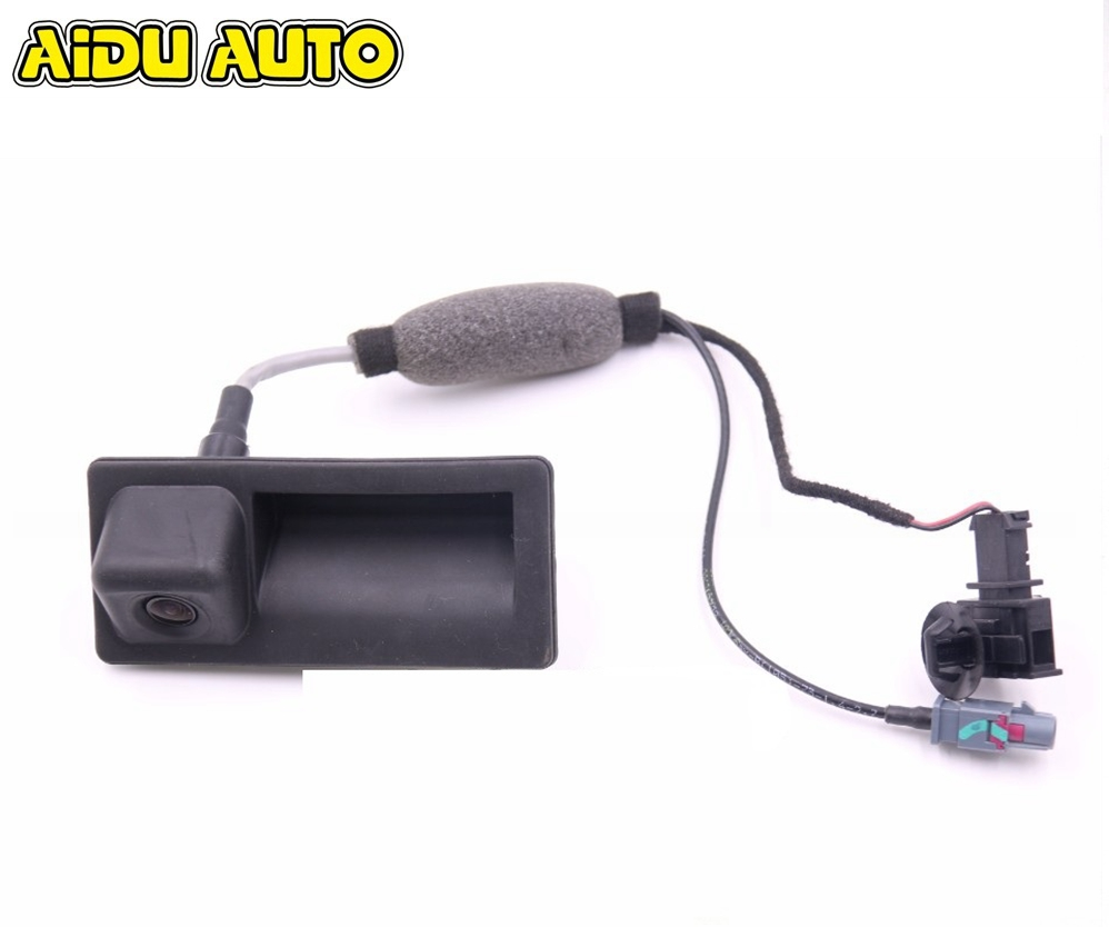 5N0827566AA HighLine AV Rear Camera View Reversing For Audi A4 A5 A6 A7 5N0 827 566 AA rns510 rcd510 car rgb reversing video camera for vw tiguan a4 a7 s6 q5 a6 a5 2011 2012 5nd 827 566 c 5nd827566c