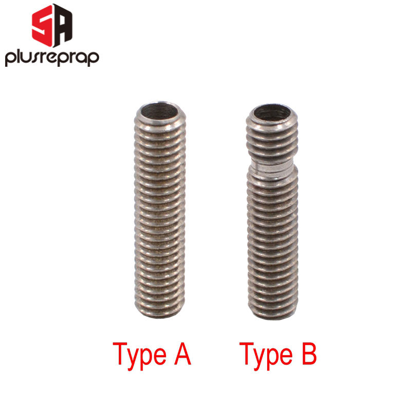 M6*26mm Bore 4.1mm Printer Nozzle Throat Stainless Steel For RepRap 3D Printer 1.75mm 3.0mm Filament Extruder