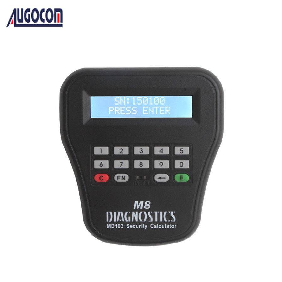 MD103 Security Calculator of The Key Pro M8 Auto Key Programmer Token Calculator
