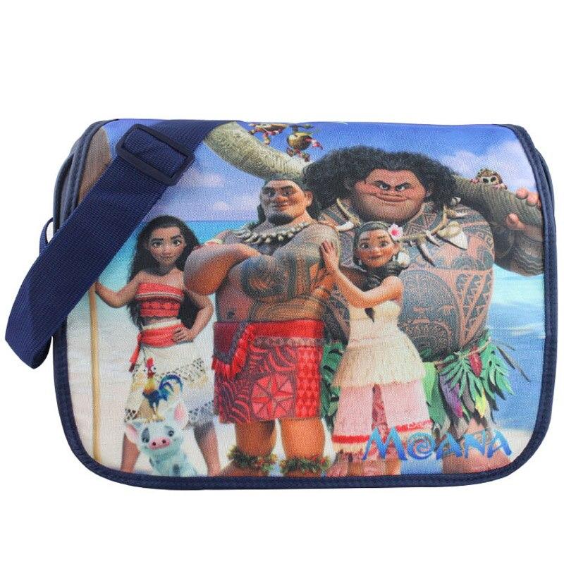 New Arrival: Cartoon Moana, Maui, Chief, Sina Polyester Aslant School Satchel/Crossbody Messenger Shoulder Bag new arrival cartoon lilo