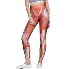 f13d219ad9cae Womail sport fitness leggings Pleine Longueur De Yoga Pantalon Nouveau  Muscle Imprimé Taille Haute Moulante Sport Pantalon Femme.