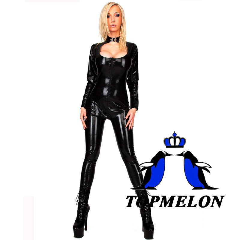 Fetish wear rubber teddy share
