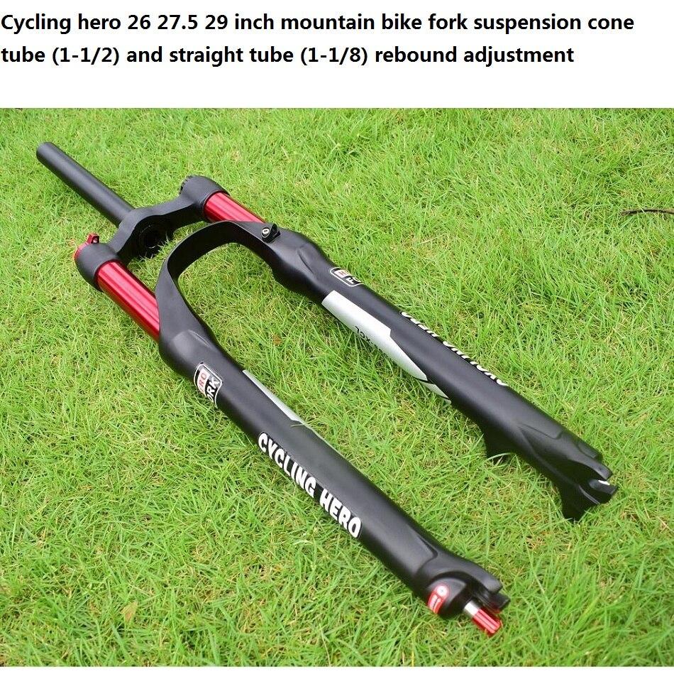 100 120mm Rechte/cone Air mountainbike Voorvering Plug bounce aanpassing 26 27.5 29 inch Optioneel gift VOS sticker - 6