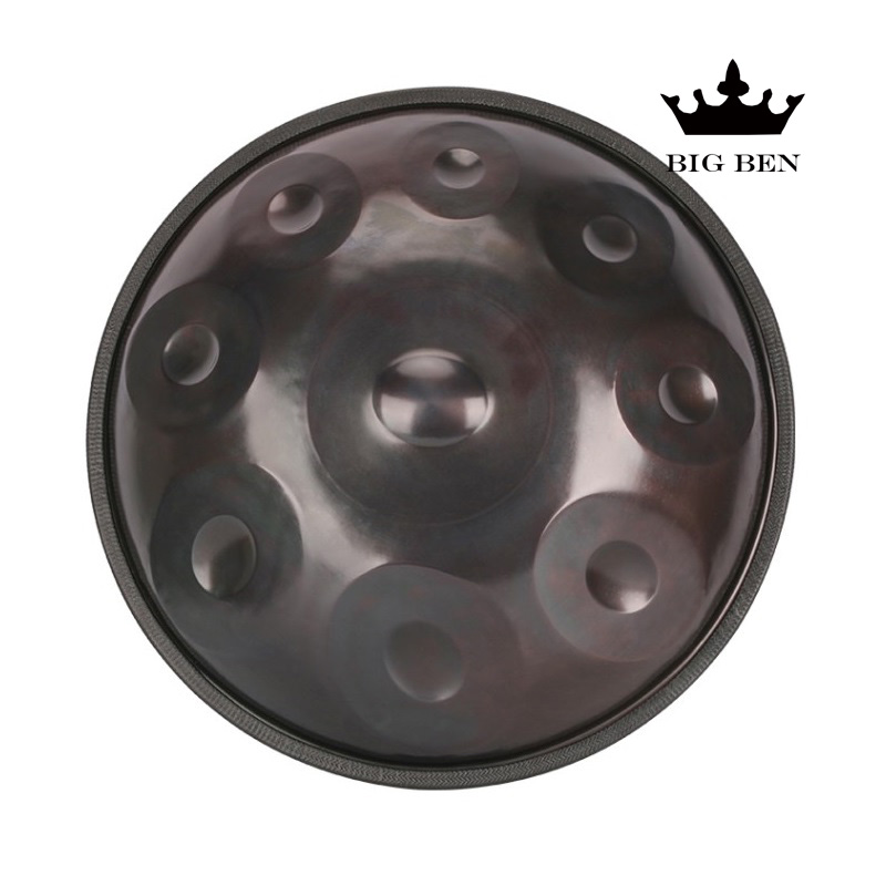 Main Hank hang drum main HANDPAN instrument cadeau tambour sac professionnelle HandPan hang drum 9/10 tons échelle performance jouer