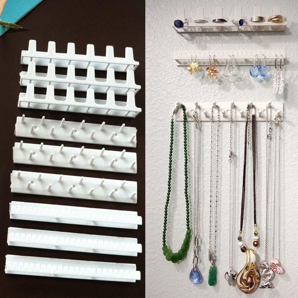 9x Jewelry Necklace Organizer Holder Racks Earrings Scarf
