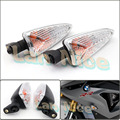 For Triumph Tiger 800 2011-2013, Tiger 1050 2007-2013 A Motorcycle Accessories Front / Rear Turn Signal Indicator Light Clear